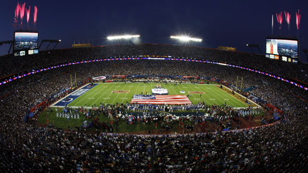 The mayors of Arlington, Fort Worth and Dallas attended Super Bowl XLIV.