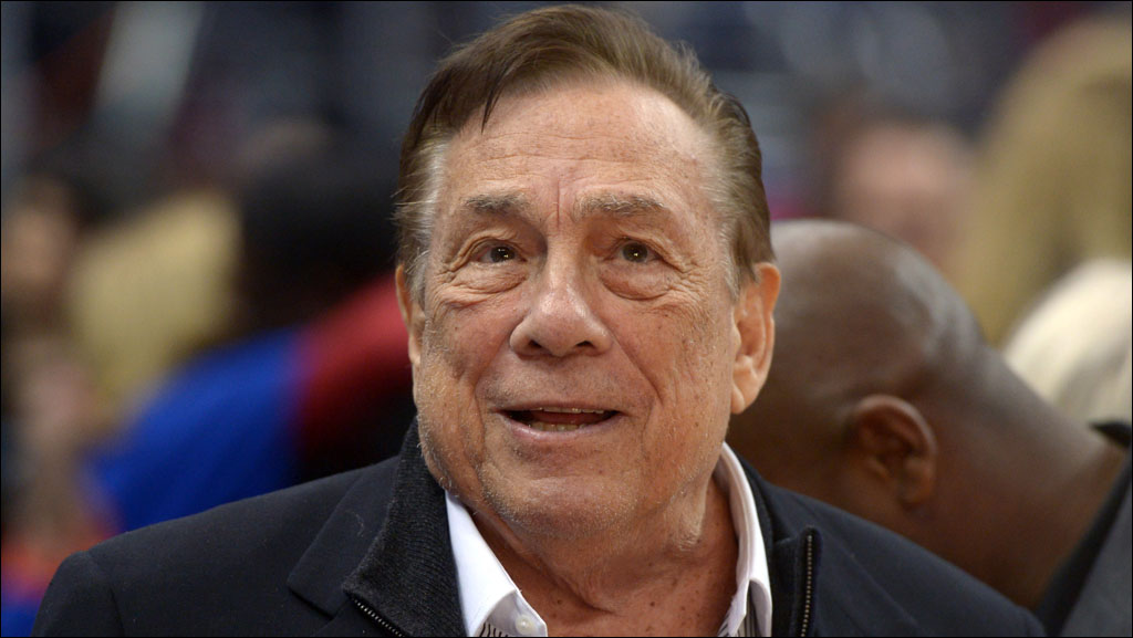 Los Angeles Clippers owner Donald Sterling attends the game against the Los Angeles Lakers at Staples Center on January 10, 2014. (Kirby Lee-USA TODAY Sports)