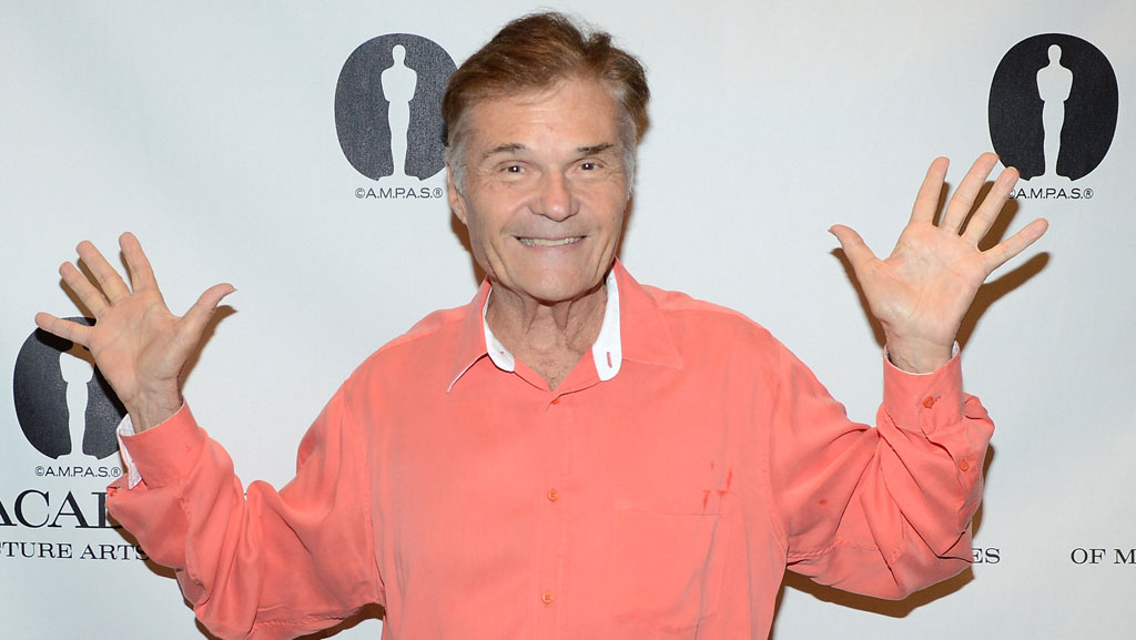 Actor Fred Willard arrives at The Academy of Motion Pictures Arts and Science's 'The Last 70mm Film Festival' Screening Of 'It's A Mad, Mad, Mad, Mad World.'