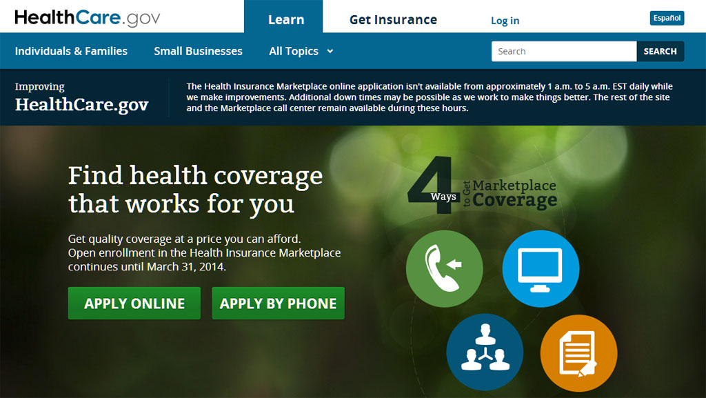 White House: On track for health care website goal