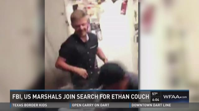 FBI, U.S. Marshals join search for Ethan Couch