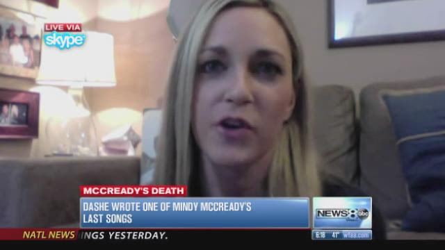 Singer-songwriter describes how song touched troubled Mindy McCready