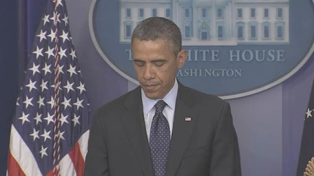 Obama: Not yet clear who is responsible for Boston explosions