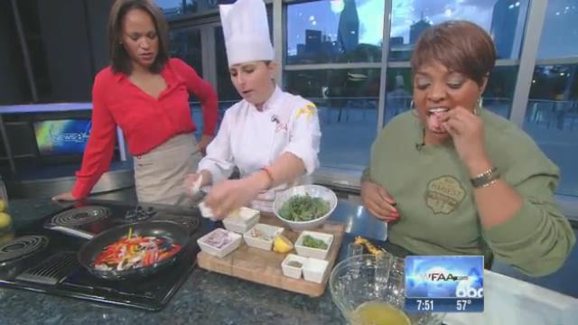 Daybreak recipe: Sherri Shepherd's Kale Recipe