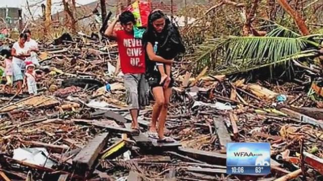 Frisco missionary back from typhoon disaster zone