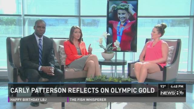 Former Olympic gymnast Carly Patterson joined News 8 at 4 to talk about what she's been up to since she rose to fame as the all-around champion of the 2004 Athens games 10 years ago.