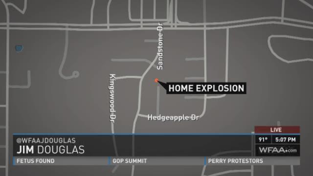 The latest on a fireworks explosion in Arlington Thursday