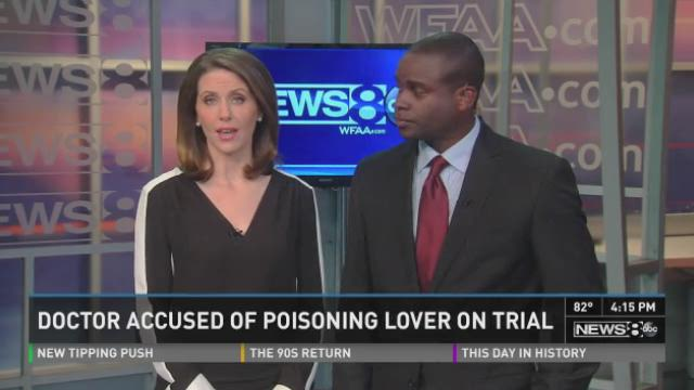 KHOU - Trial begins for doctor accused of poisoning lover