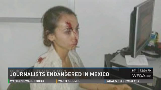 Journalists endangered in Mexico