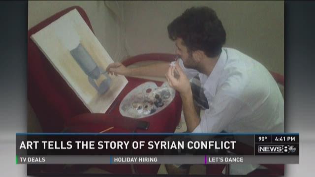 Refugee art