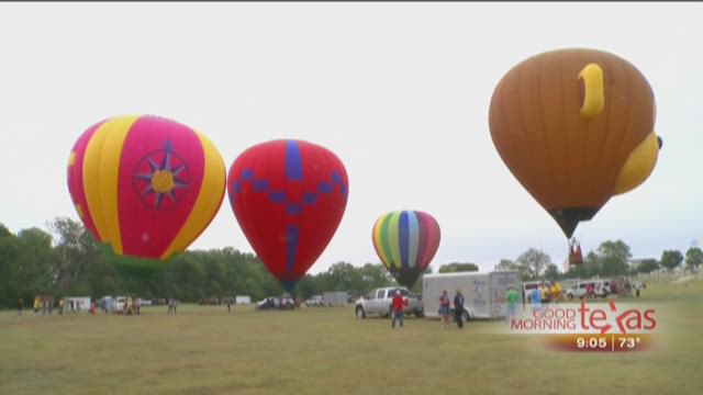 Flying High at the Plano Balloon Festival