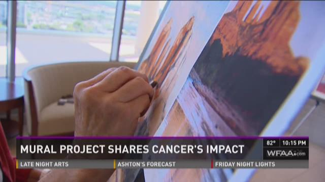 Mural project shares cancer's impact