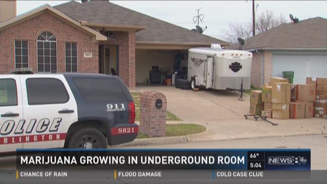 Police Underground Pot Farm Found At Arlington Home