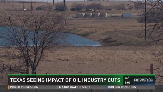 Texas seeing impact of oil industry cuts