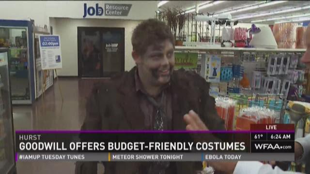Goodwill shopping for Halloween