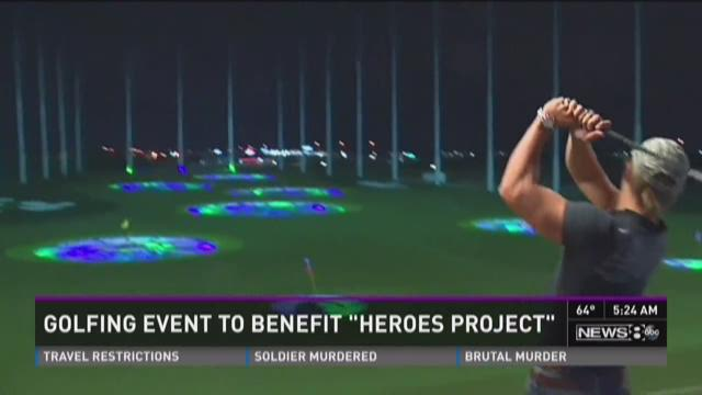 Golfing event to benefit 'Heroes Project'