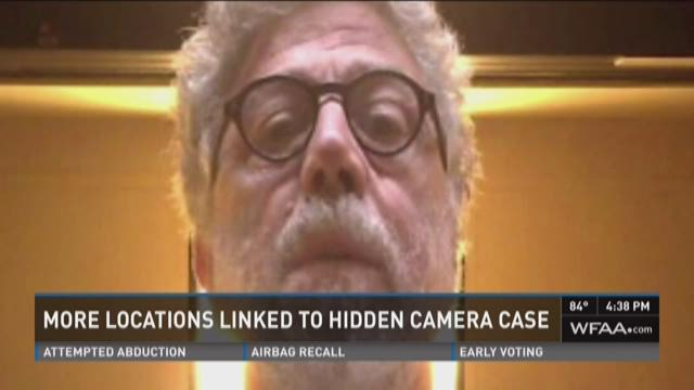 More locations linked to hidden cams case