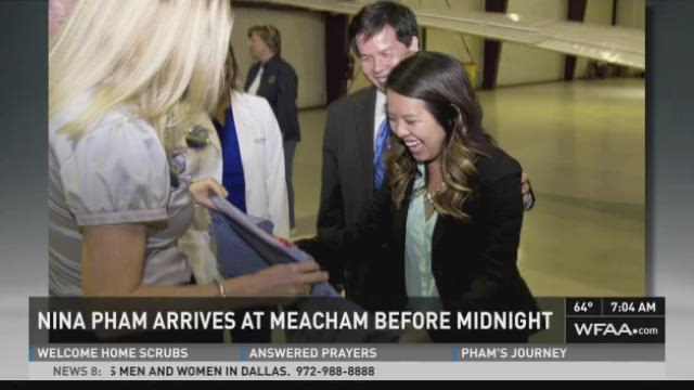 Texas homecoming for Nina Pham