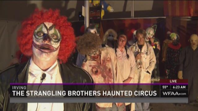Strangling Brothers: Haunted Circus