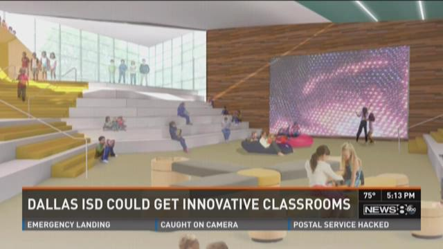 Innovative Classroom Programs : Dallas considers classrooms of the future