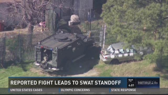 Fight leads to SWAT standoff