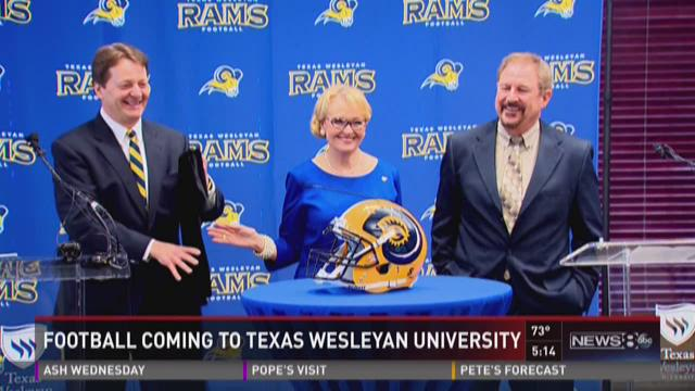 Football coming to Texas Wesleyan University