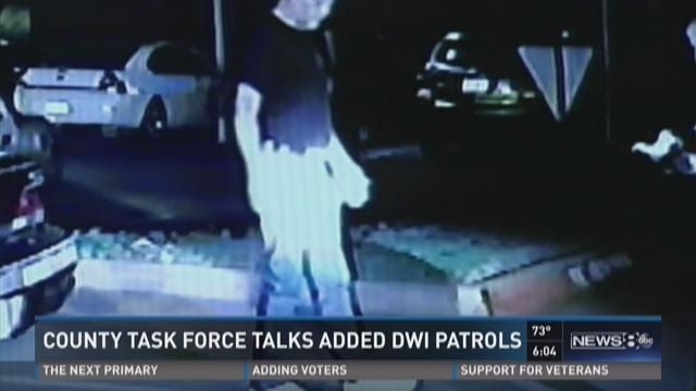 County task force talks added DWI patrols
