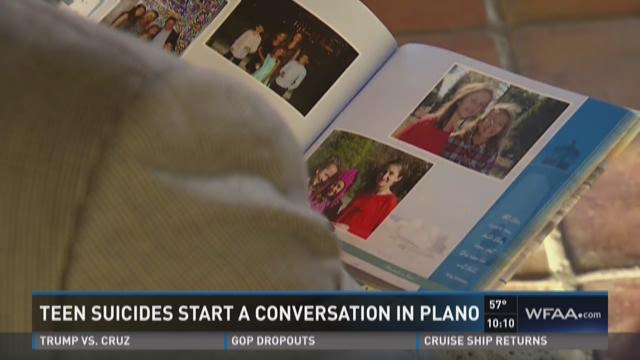 Teen suicides start a conversation in Plano