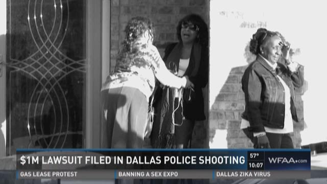 $1M lawsuit filed in Dallas police shooting