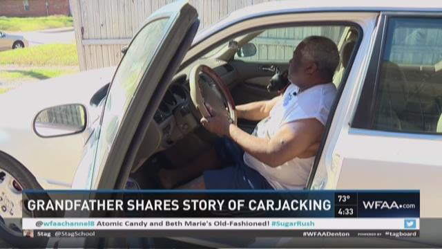 Grandfather shares story of carjacking