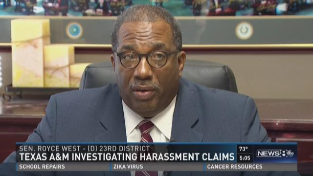 Texas A&M investigating harassment claims
