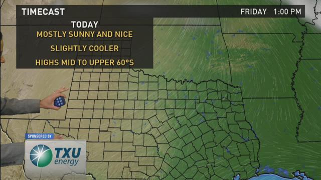 WFAA Morning Weather Update