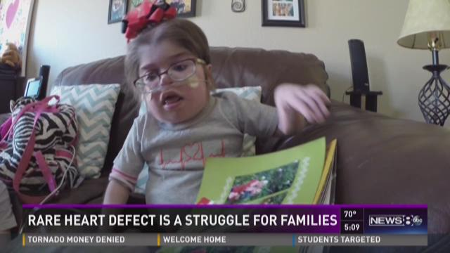 Rare heart defect a struggle for families