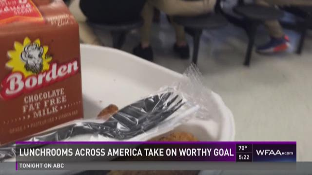 Lunchrooms across America take on worthy goal