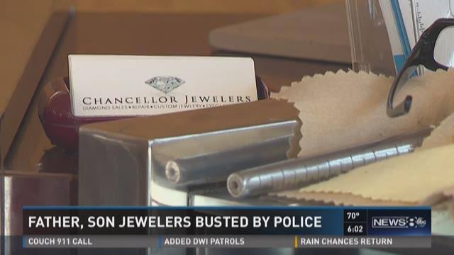 Father, son jewelers busted by police