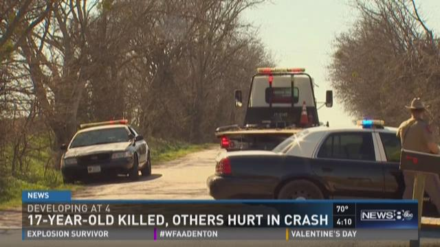Teen killed, others injured in crash