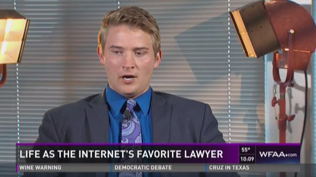 Life as the internet's favorite lawyer