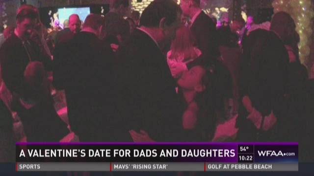 A Valentine's date for dads and daughters