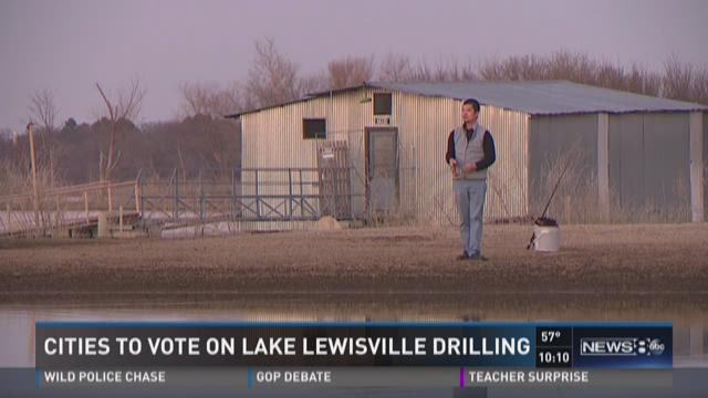 Cities to vote on Lake Lewisville drilling