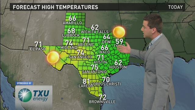 WFAA Morning Weather Update - 2/13/2016