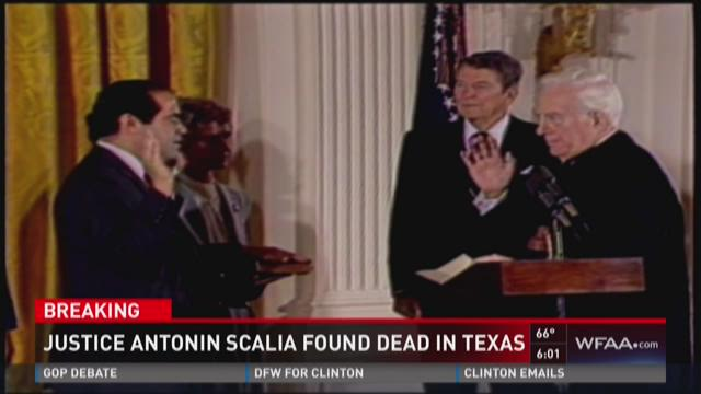 Justice Antonin Scalia found dead in Texas