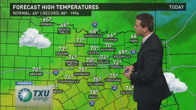 WFAA Morning Weather Update - 2/14/2016