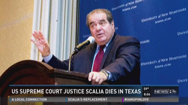 Political fight follows Scalia's death