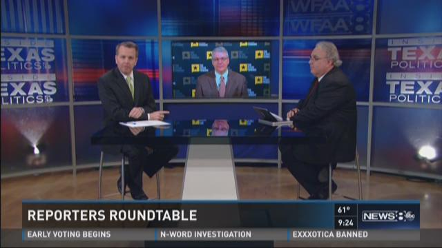 Inside Texas Politics: Reporters Roundtable