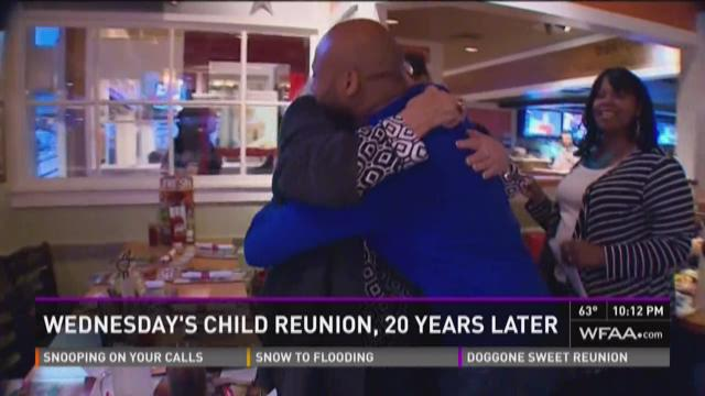 Former Wednesday's Child reunites with CASA worker