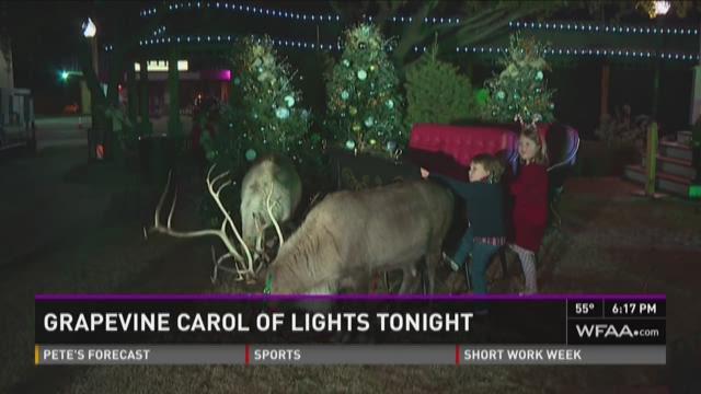 Grapevine's Carol of Lights