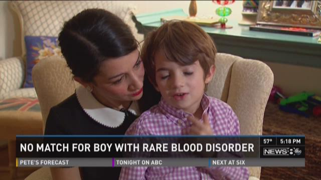 Fort Worth youngster Cline McMurry recently returned from Seattle seeking medical advice for rare blood disease.