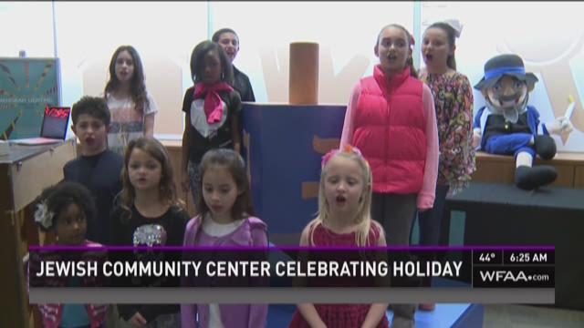 Jewish Community Center celebrates Hanukkah