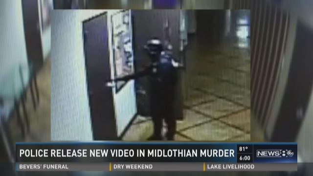 Police release new video in Midlothian murder