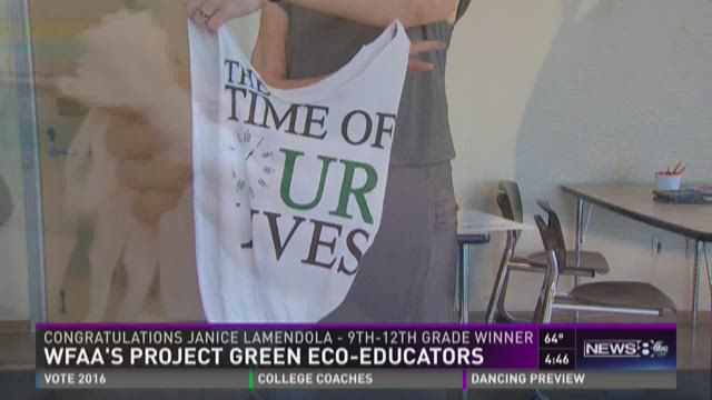 Project Green: 9th-12th grade winner